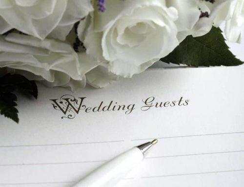 Comment faire sa liste d'invités pour son mariage?